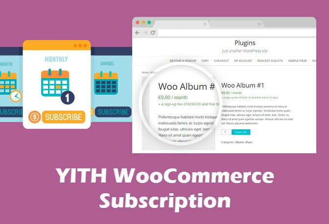 YITH WooCommerce Subscription 1